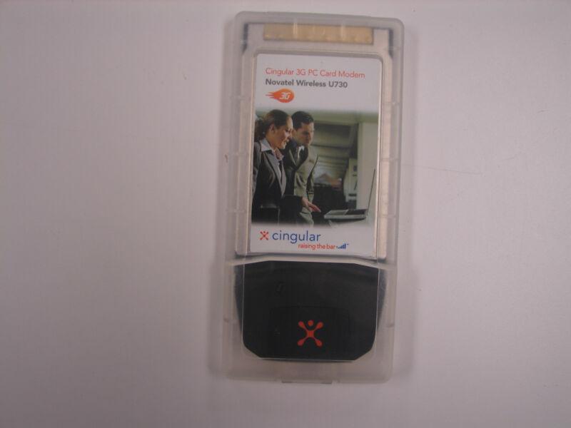 Cingular 3G PC Card Modem Novatel Wireless U730 Lot of 27
