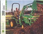 John Deere 2000 Series Tractors 2305 2320 2520 272 picture