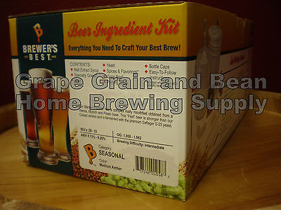 Brewers Best American Pale Ale Brewing Kit, Beer Making Kit, Beer Ingredient (Best American Pale Ale)