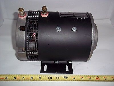 91096 Fits Crown Forklift New Motor 72 Volt Replaces Prestolite-msv-4001 091096