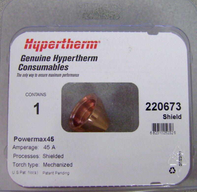 Hypertherm Genuine Plasma Powermax 45 Mechanized Shield 220673