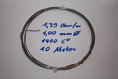Heating Wire Chromdraht Resistance 1400 C Furnace Repair 0 132in 14 Ohm