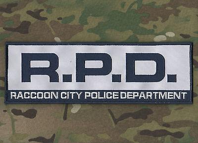RESIDENT EVIL ZOMBIE OUTBREAK SURVIVOR RACCOON CITY POLICE DEPARTMENT RPD SSI