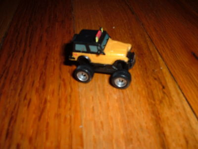 Small Toy Cars (Mini Plastic YELLOW HUMMER Monster Toy car small Unknown Maker 1