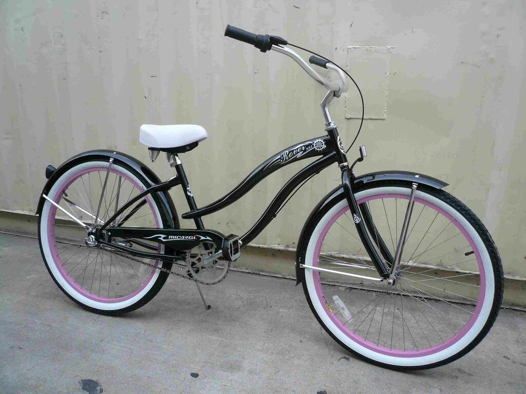 "Micargi BMI 26"" 3 SPEED beach cruiser bicycle bike Rover Lad"