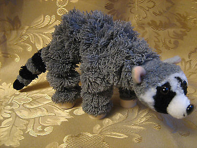 Yarn Racoon Marionette Puppet