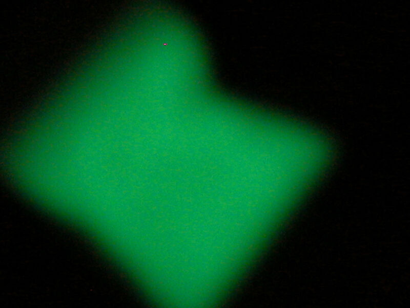 1 bag sparkly white Glow Fairy sand for glass bottle GLOWS IN DARK Green