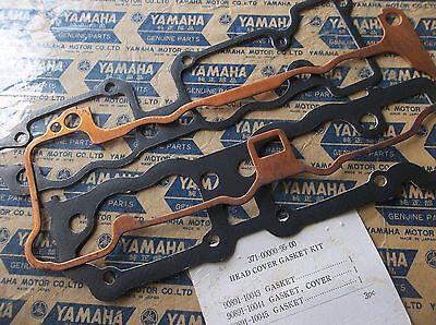 NOS Yamaha 1973 TX500 1974 TX500A 1975XS 500B Cylinder Head Cover Gasket Kit