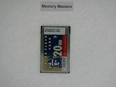 MEM-RSM-FLC20M 20MB Approved PCMCIA Linear Flash Card Memory for Cisco (20mb Cisco Approved Flash Card)