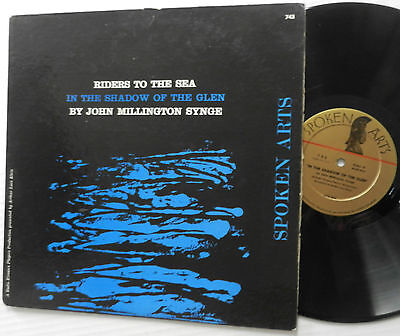 JOHN MILLINGTON synge riders to  the sea LP in the shadow of the