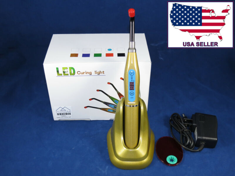 Dental LED Curing Light Wireless Light Cure Lamp USA Seller Lampara Fotocurado