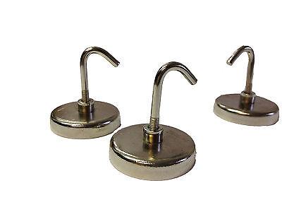 24 Stück Magnet Haken 1,07€/Stk. Kühlschrank Schlüsselhaken Geschenk Hakenmagnet