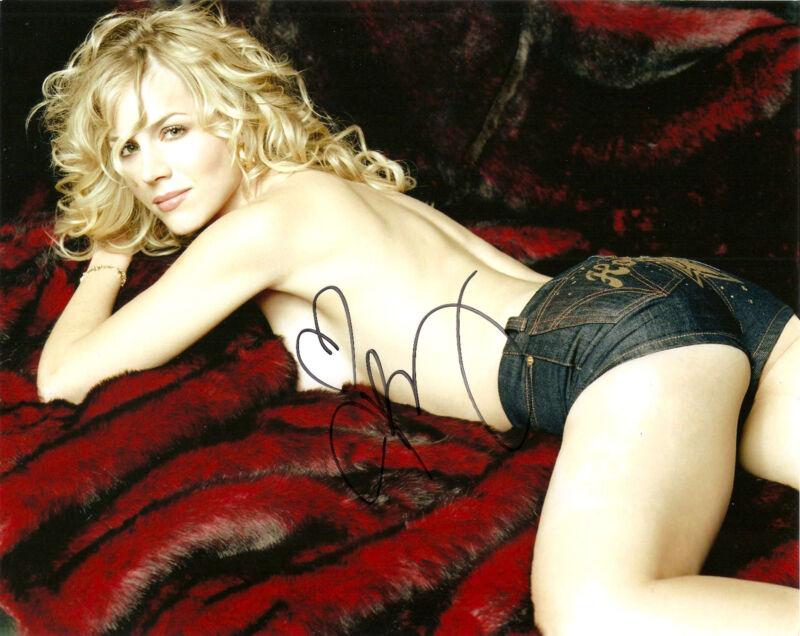 Sexy Julie Benz Signed Autographed 8x10 COA