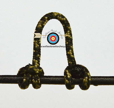 Camo Archery Release Bow String Nock D Loop Bowstring BCY #24