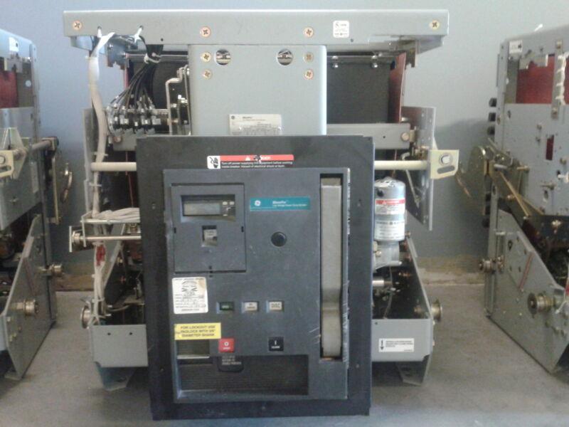GE WavePro  4000 Amp  WPS-40 Circuit Breaker  M/O D/O