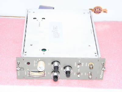 Nd Nuclear Data Nd570 Adc Nim Module With Cable 6 Volt