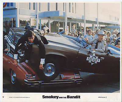 SMOKEY AND THE BANDIT photo JACKIE GLEASON/MIKE HENRY original color lobby still