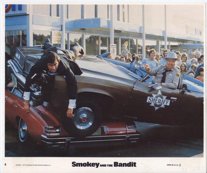 SMOKEY AND THE BANDIT photo JACKIE GLEASON/MIKE HENRY original color lobby still