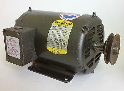 Baldor Motor M3158t 3-phase 3450rpm 208-230460v 60hz