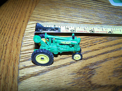 "JOHN DEERE TOY TRACTOR MODEL ""UNSTYLED B"" 1/64 SCALE NEVER PLAYED WITH"