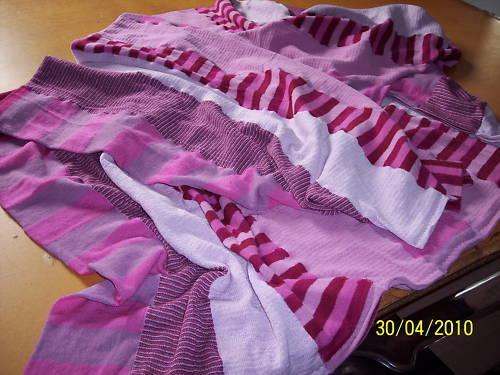 Plaid Solid/Worn/Von Dutch Fuchsia 100% Merino Wool