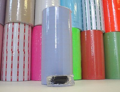 15000 Labels Flat Blue For Monarch 1115 1 Sleeve