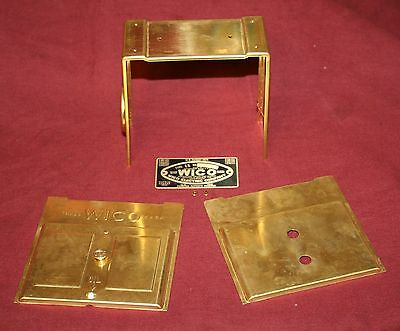 Wico Ek Brass Mag Magneto Front Cover Band Set Name Plate Hit Miss Gas Engine