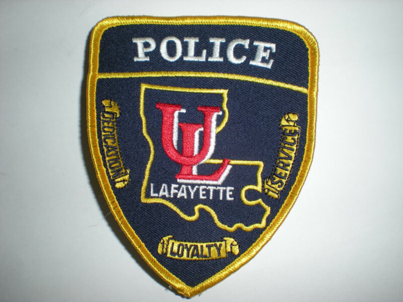 UNIVERSITY OF LOUISIANA, LAFAYETTE POLICE DEPARTMENT PATCH