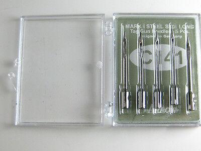 5 Tag Gun Needles Long Neck Clothes Garment Label Tagging Arrow C141 Mark I