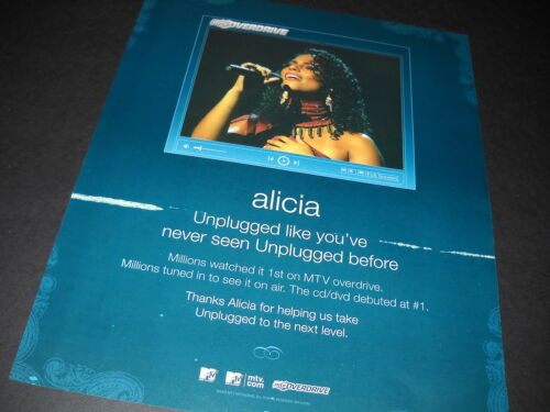 ALICIA KEYS Unplugged Like You