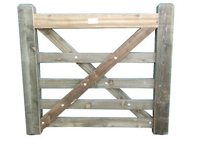 4ft x 4ft Timber Treated Diamond Brace Wooden Entrance Garden Pathway Field Gate