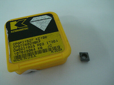 Kennametal Indexable Diamond Turning Insert Cpgm 21.52 C6 Kd100 K