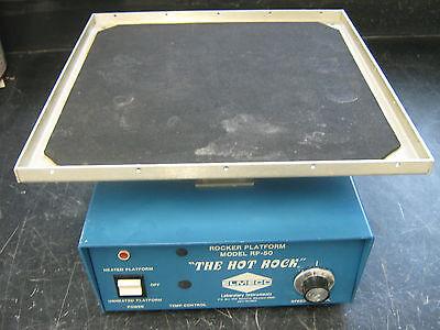 Elmeco Temperature Controlled Rocker Platform Model Rp-50 The Hot Rock