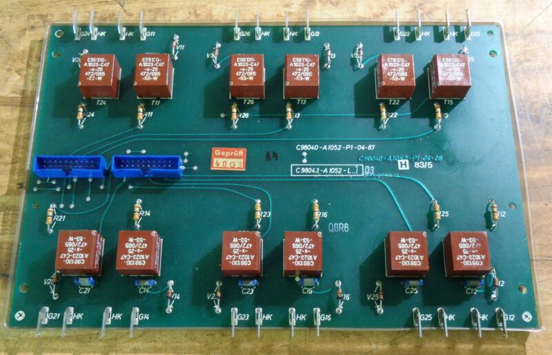 Siemens Circuit Board PCB C98040-A1052-P1-04-85 _ C98040A1052P10485