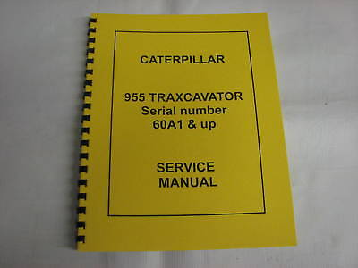Caterpillar 955 60a1 Up Traxcavator Service Manual