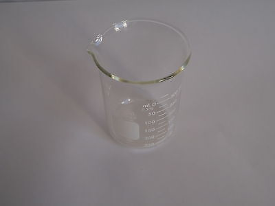 Corning Pyrex 1000-400 Glass 400ml Graduated Low Form Griffin Beaker