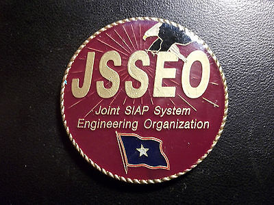 RARE JOINT SIAP SYSTEM ENGINEERING ORGANIZATION JSSEO Challenge Coin