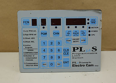 Plus Programmable Limit Switch Electro Cam Corp Ps-4011-10-p16 W Encoder 5605