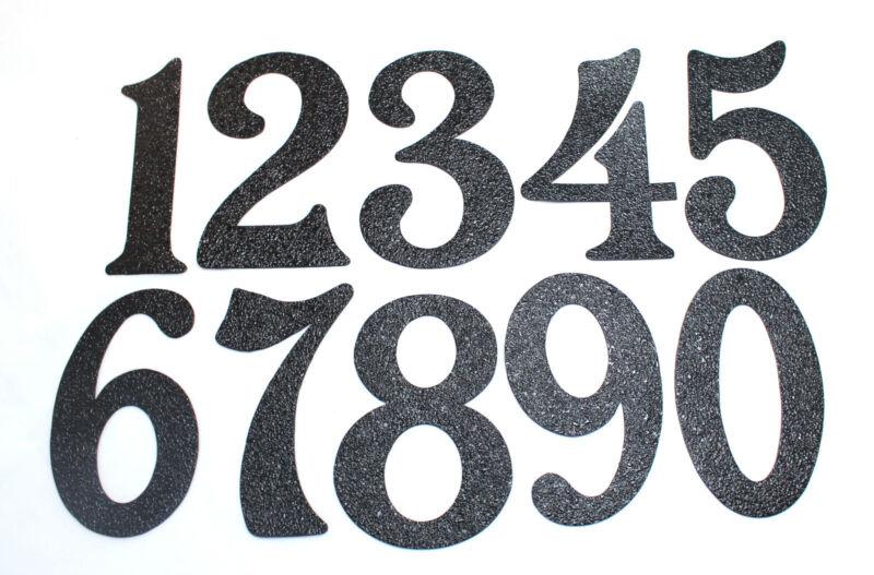 House Numbers - Black Embossed Magnetic  - Great for Garage Doors
