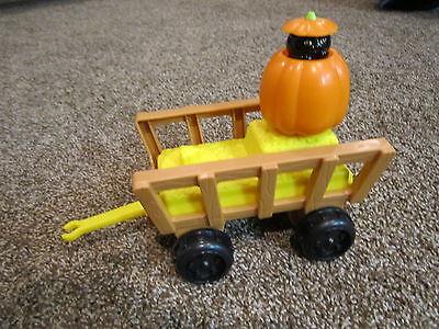 Fisher Price Little People halloween farm barn hayride harvest hay wagon cat - Kids Wagon Halloween