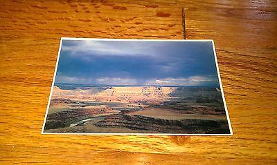 Storm Over Dead Horse Point State Park Utah Alexander Skye old Vintage Postcard
