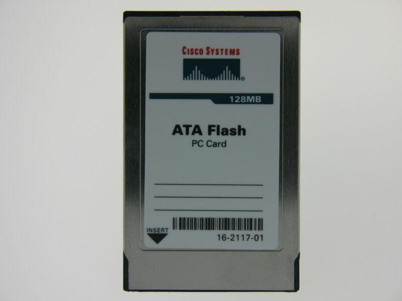 16-2117-01 128MB PCMCIA Flash Card Cisco