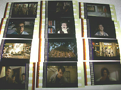 Ghostbusters Film Cell Lot Of 12   Collectibles Compliments Movie Dvd Poster