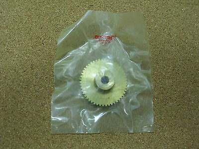 New Boston G1029 Bronze Worm Gear 32 Pitch 14 Bore 50 Teeth Rh.