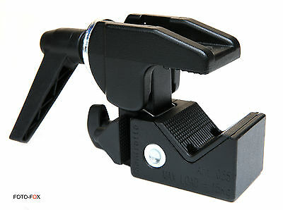 MANFROTTO MN035 SUPER CLAMP. QUALITY ASSURED PROFESSIONAL PHOTO VIDEO ACCESSORY