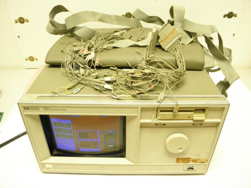 Hewlett Packard HP 16500A Logic Analysis System 16510B 16531A 16530A SELF TestOK