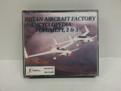 Rutan Aircraft Factory Encyclopedia CDs Vol 1-3