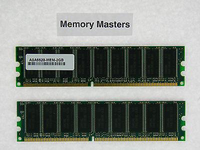 ASA5520-MEM-2GB 2GB (2x1GB) Memory Kit Approved Cisco ASA 5520 Router **Tested**