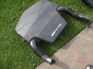 Mercedes-Benz OEM W210 W208 CLK55 E55 AMG ENGINE MOTOR COVER AIR INTAKE FILTER