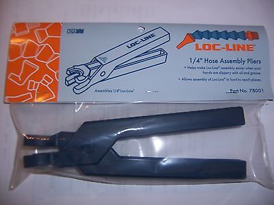 Loc-line 14 Hose Assembly Pliers 78001 New